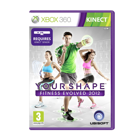 Your Shape Fitness Evolved 2012 for the XBox Kinect