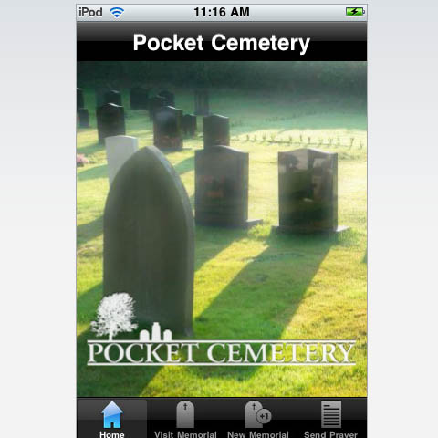 The Pocket Cemetery App