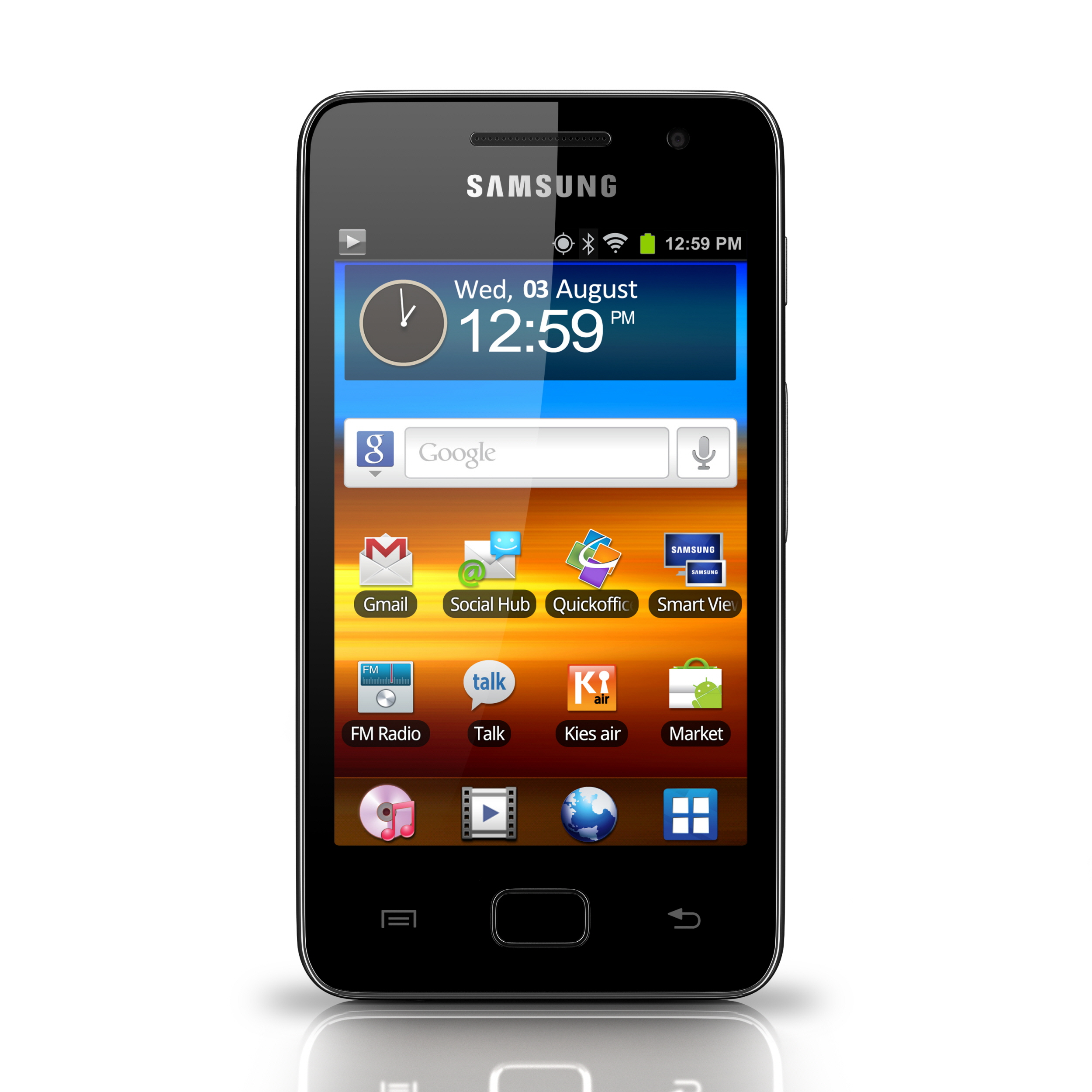 ifa 2011 samsung debuts the galaxy wifi 3 6 a mobile. Black Bedroom Furniture Sets. Home Design Ideas