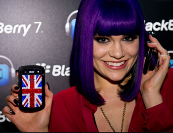 Jessie J Blackberry