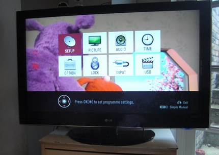 Short term HDTV test: The LG LCD 42LH5000 - ShinyShiny