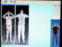 Airports introduce naked security scanners - the X-ray vision is ...