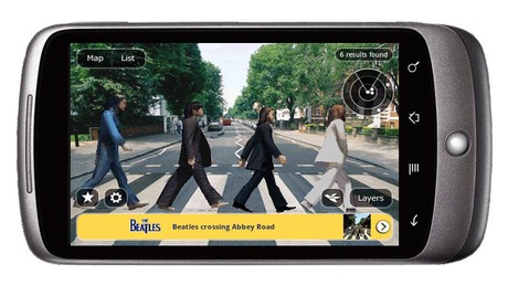 beatles ar app