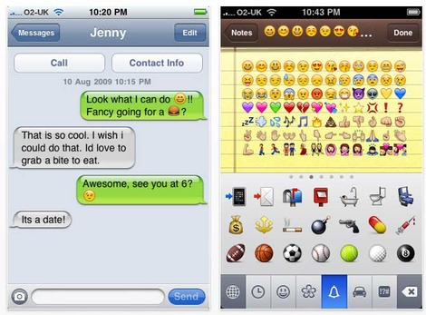 Iphone App Review Emoji Brings Emoticons
