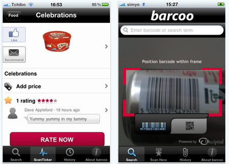 Hack the label: App Barcoo lets people add to barcodes