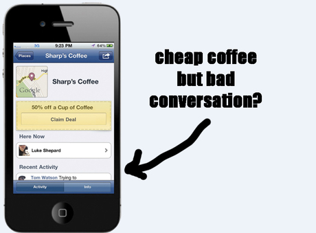 Facebook Deals: cheap coffee but bad chat? Do we want brands in our ...