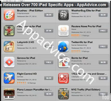 how to get app store on ipad 1