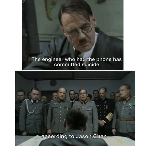Hitler on the loss of the iPhone 4G
