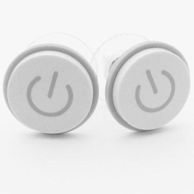 MacBook Power Button earrings