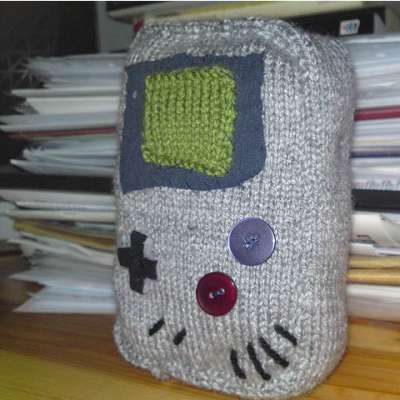 Knitted GameBoy