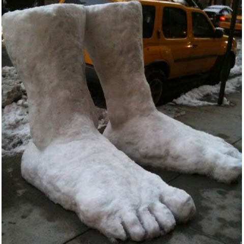Two feet of snow reported