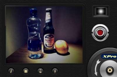 Xpro film with Spotlight Lens