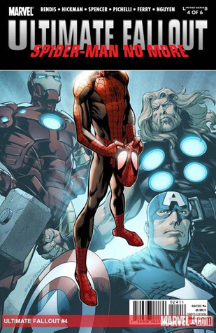 Cover of the issue introducing Miles Morales