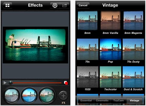 Cinema FX for video