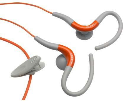 Cresyn C220E Orange Earhook Sports Headphones