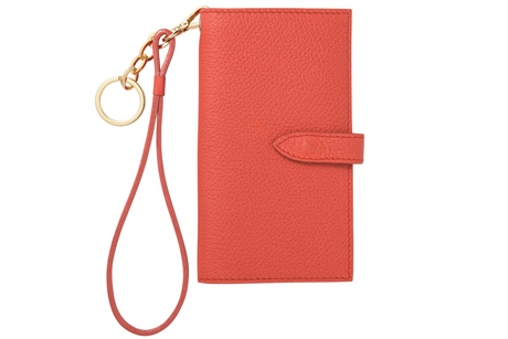 Capulet Emma iPhone Wristlet in Sunset Red