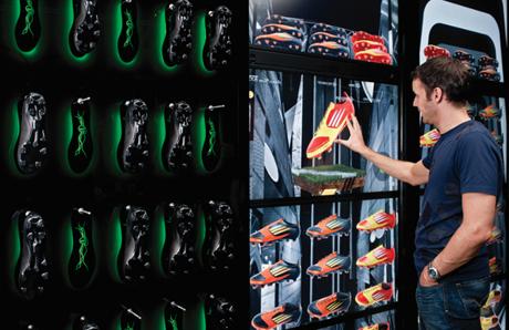 Adidas Virtual Footwear Wall (VFW)