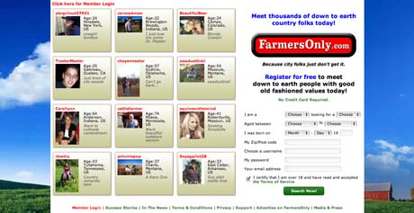 Single farmers dating commercial