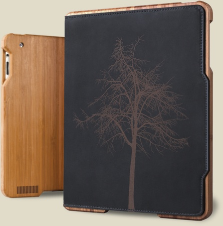 Bamboo iPad case by Grove