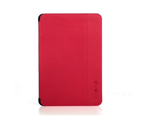 Knomo iPad Mini Folio in Teaberry