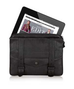 Proenza Schouler PS1 Leather iPad Case
