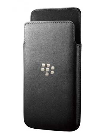 BlackBerry Leather Pocket