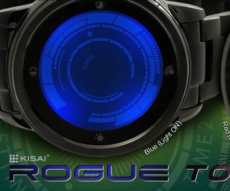 Kisai Rogue Touch LED Watch £128