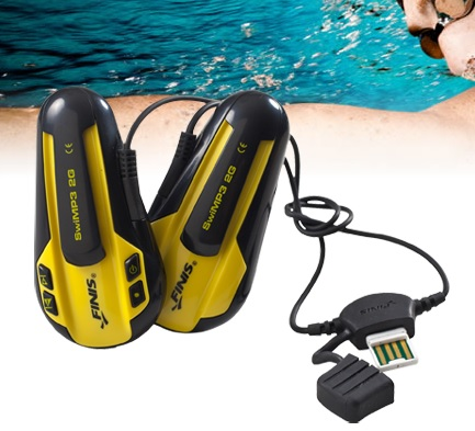 SwiMP3 Waterproof Music  £84