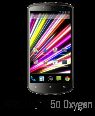 ARCHOS 50 Oxygen smartphone