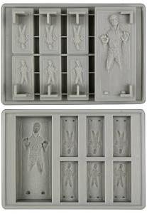 Han Solo Carbonite Ice Tray