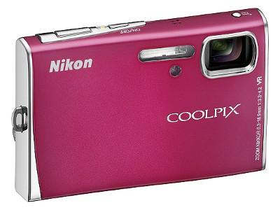Pink Coolpix Camera