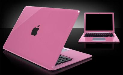 Apple de Ira Pink-macbook