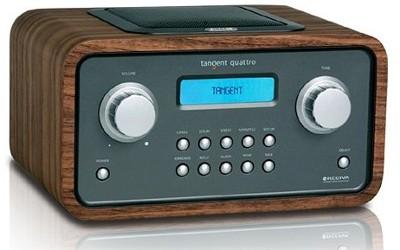 Tangent Quattro - trådlös Internet-radio
