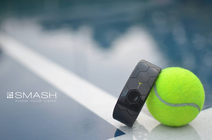 Smash tennis wearable
