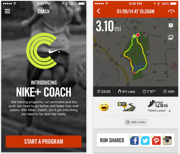 best running app for iphone top 10 running apps for the iphone nike running 3147