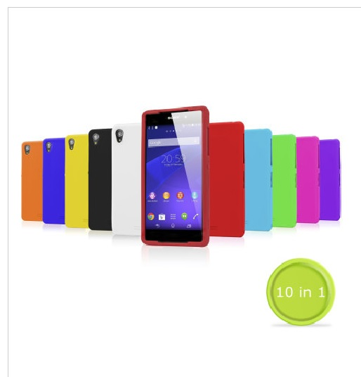 MobileFun 10-in-1 Silicone Case Pack