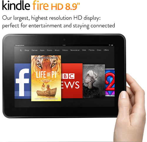 Amazon Kindle Fire Hd 8 9 Finally Lands In The Uk On