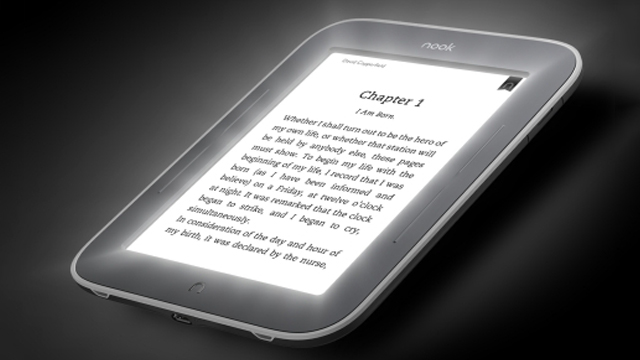 Kindle Vs Sony Reader: The Nook Simple Touch Glowlight EReader Launches In The UK