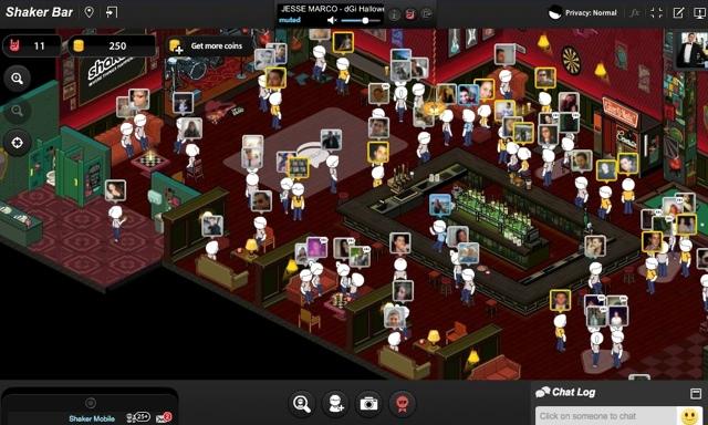 Will virtual bar/chat room Shaker be a success? - ShinyShiny