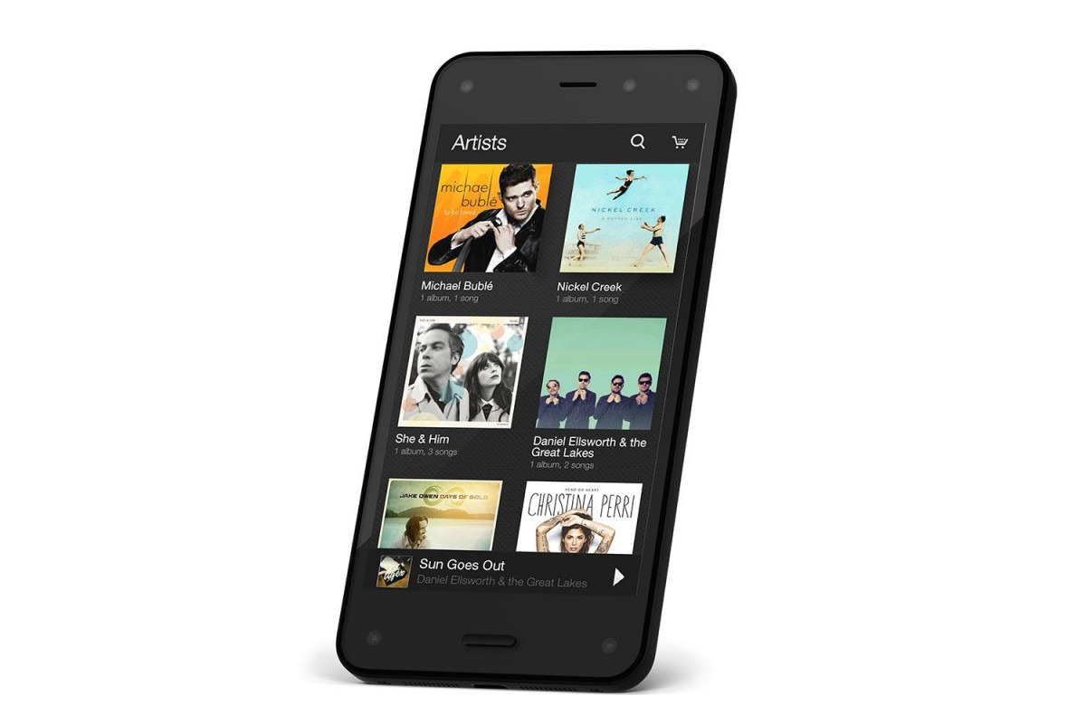 Amazon-Fire-Phone-Music-Library