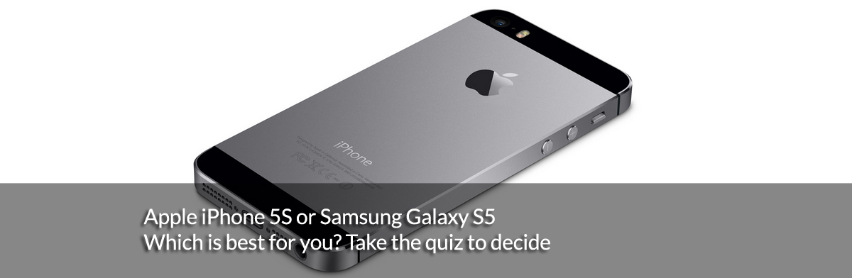 Apple iPhone 5S Vs Samsung Galaxy S5 – our interactive buying guide
