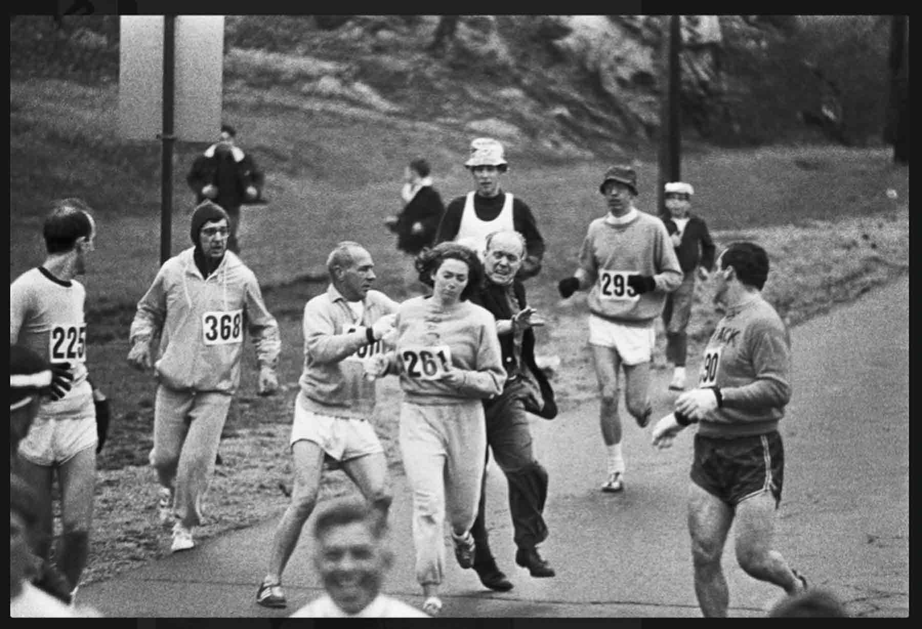 Kathrine Switzer Boston Marathon 1967