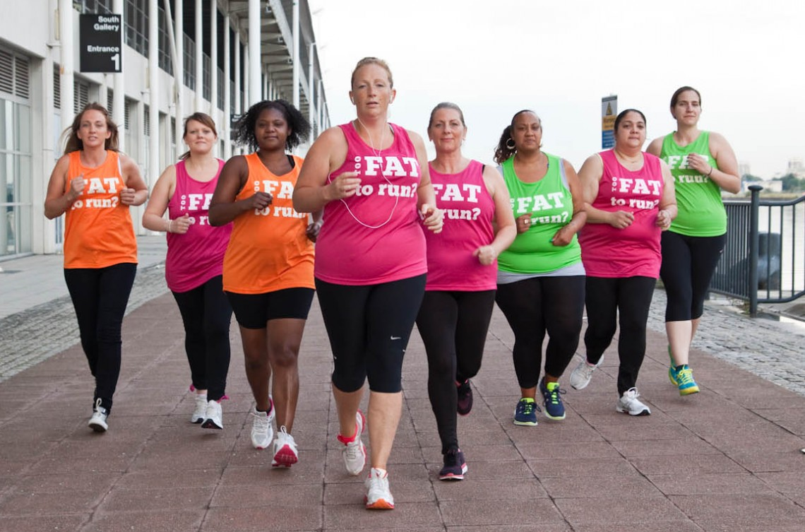 shinyshiny speaks to the fat girls guide to running s julie fatty
