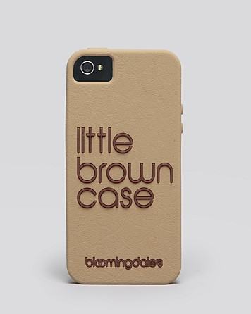 Bloomingdale's little brown iPhone case – £23.70