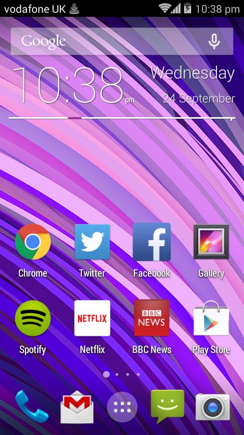 Vodafone Smart 4 screenshot