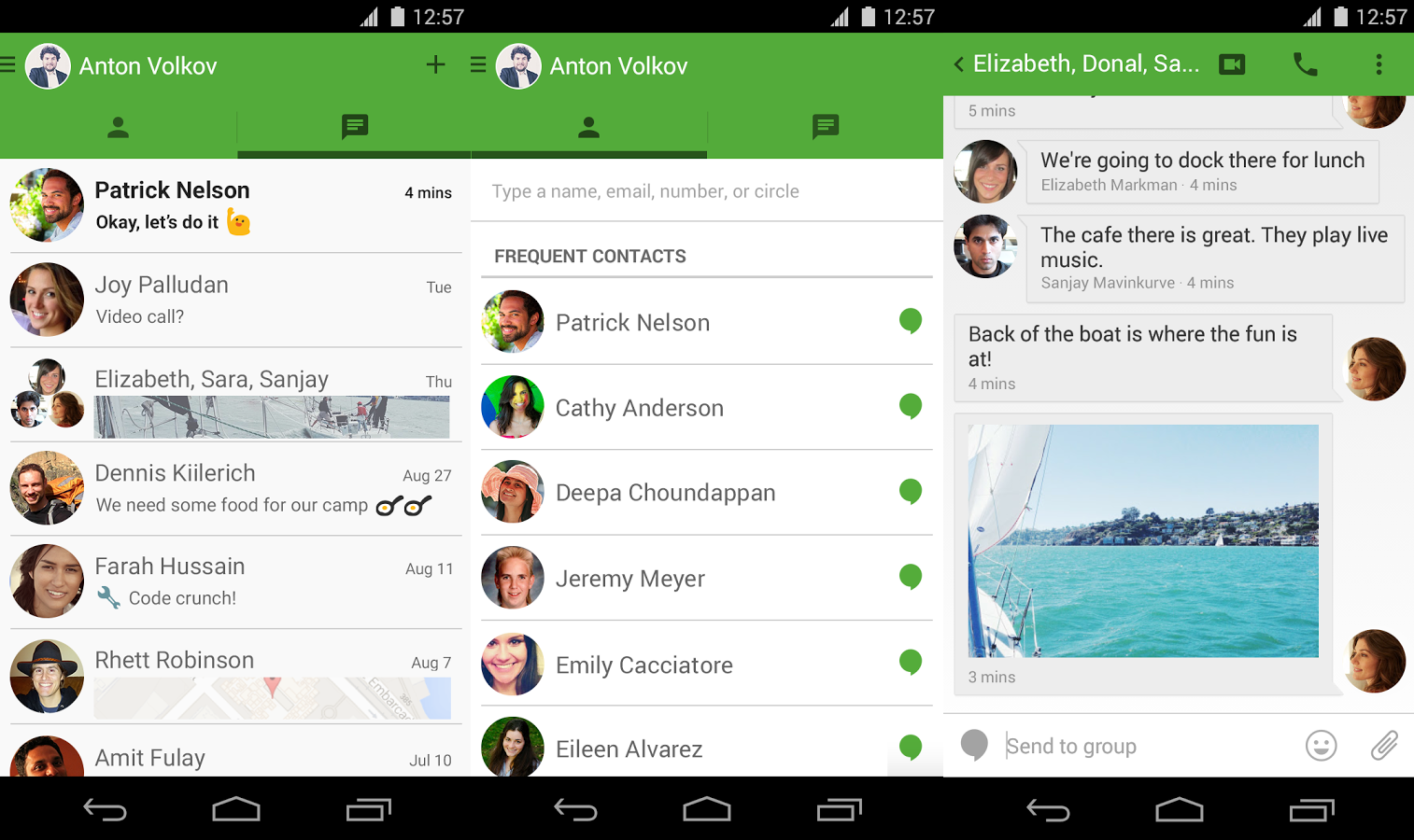 how to use hangouts on android phone