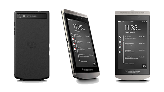BlackBerry Porsche Design P9982 Z10 smartphone