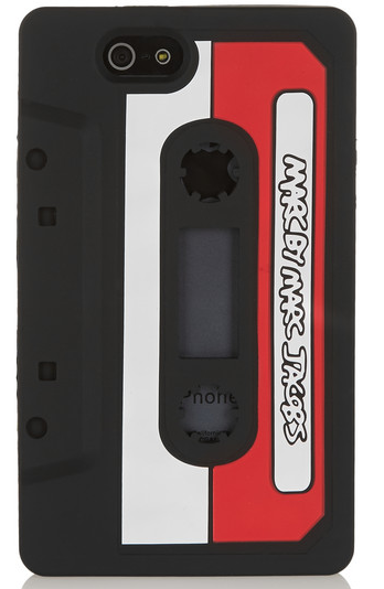 Marc Jacobs silicone cassette iPhone case – £40