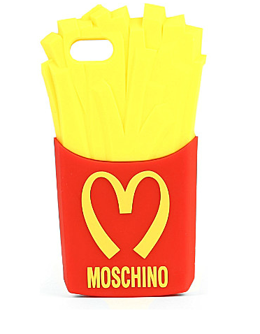 Moschino Fries iPhone case - £45
