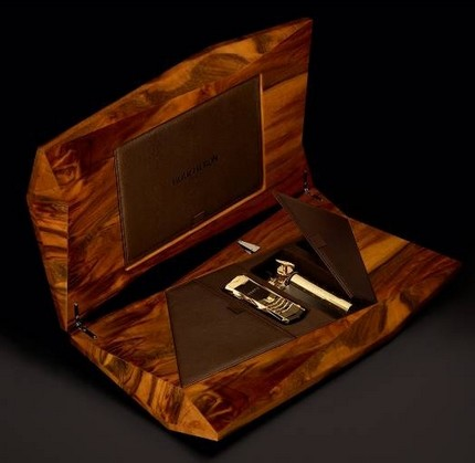 Vertu Boucheron walnut chest